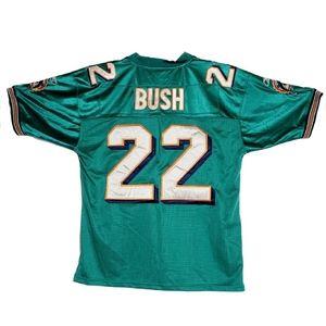 Reebok Reggie Bush Miami Jersey 50